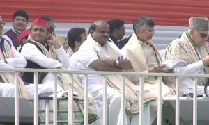 Mamata Rally Mamta With 13 Parties