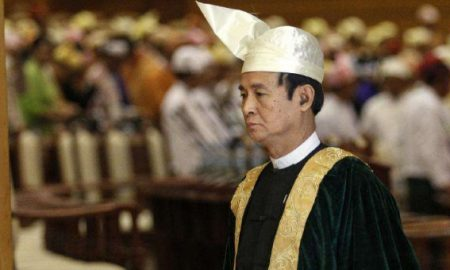 Myanmar President appeals for peace in peace
