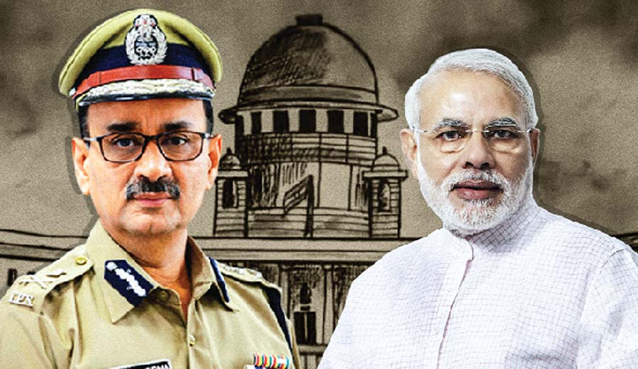 Question On Government After Alok Verma's Resignation