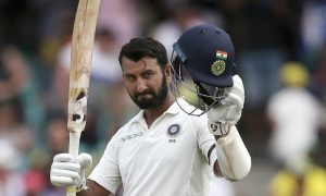 Sydney Test: Pujara Made The Third Century In The Series