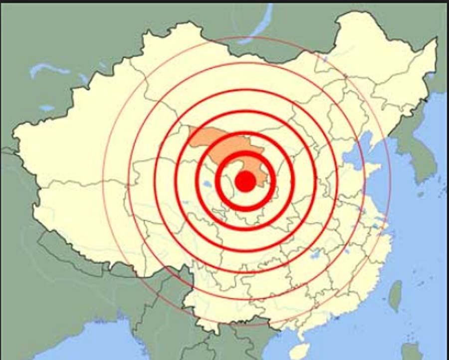 earthquake, China