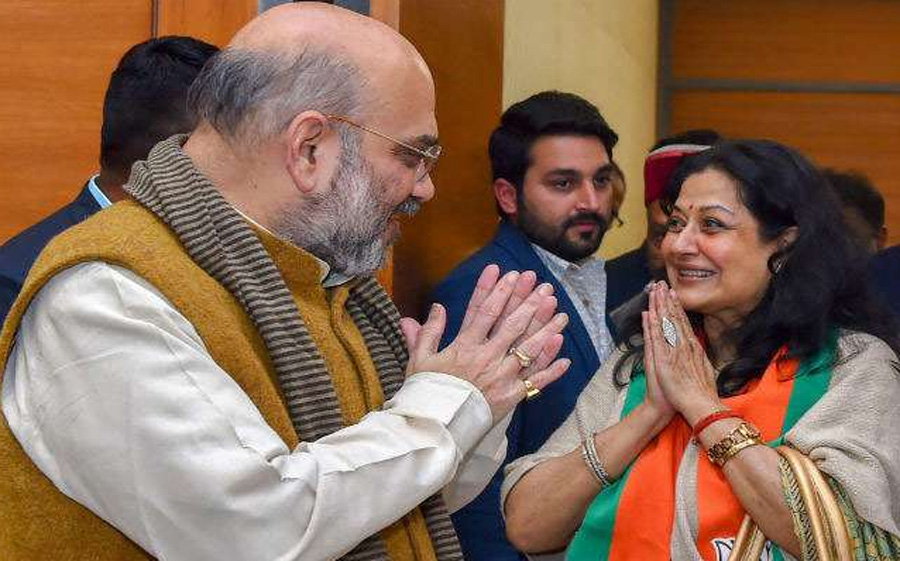 Bollywood Actress Mausamy Chatterjee Joined BJP