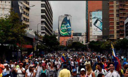 Venezuelan demonstration