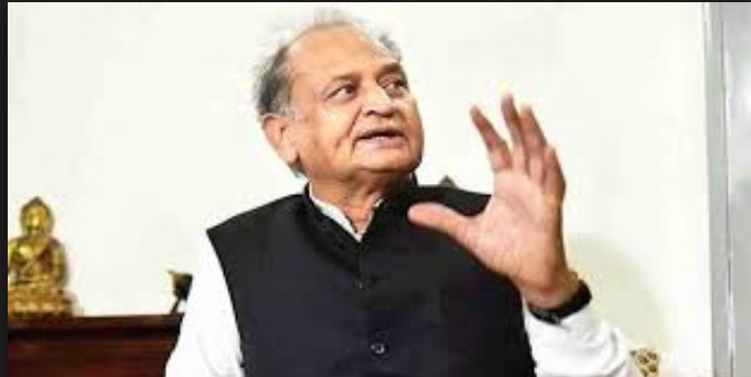 Ashok Gehlot observed disaster relief practice