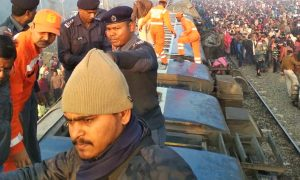 Bihar 11 Bogies Seemanchal Express Derailed 7 Killed