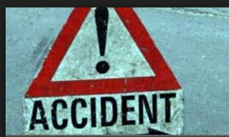 Death of Sarpanch in road accident