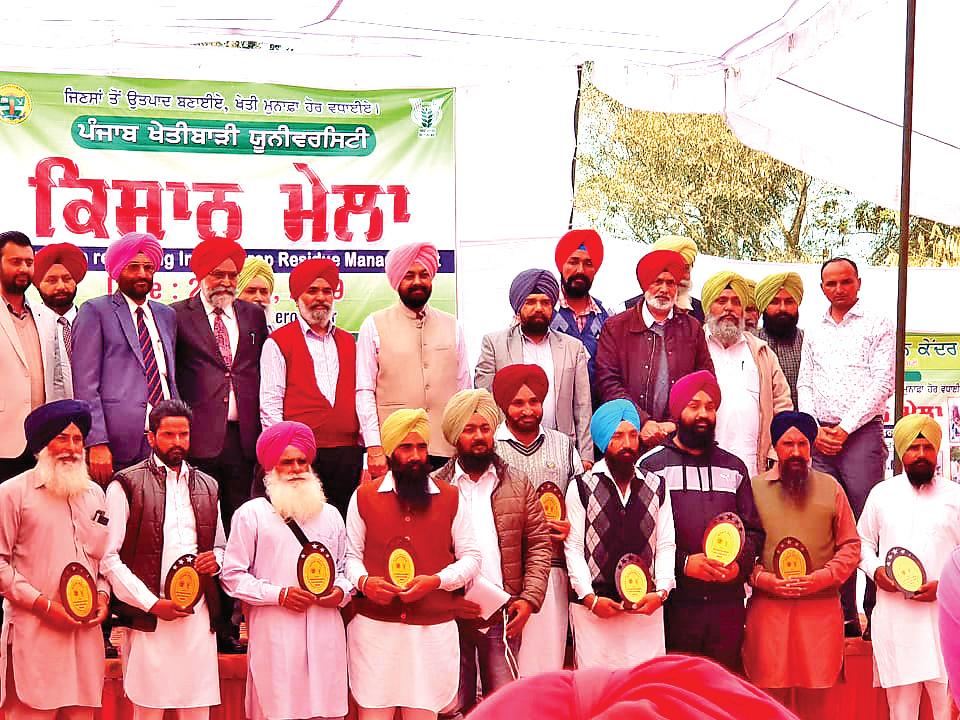 More Than 30 Progressive Farmers, Honored, Punjab