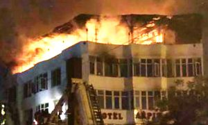 Delhi: 17 Killed In Fire At Karol Bagh Hotel