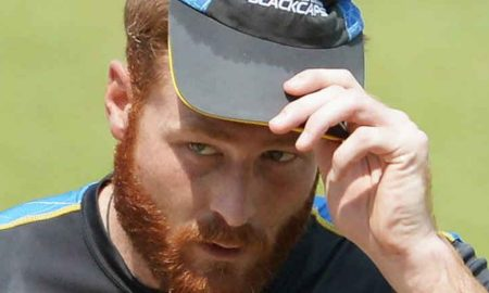 Guptill's Injury waist Suspect Play Against India Fifth ODI