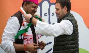 Kirti Azad joined the Congress