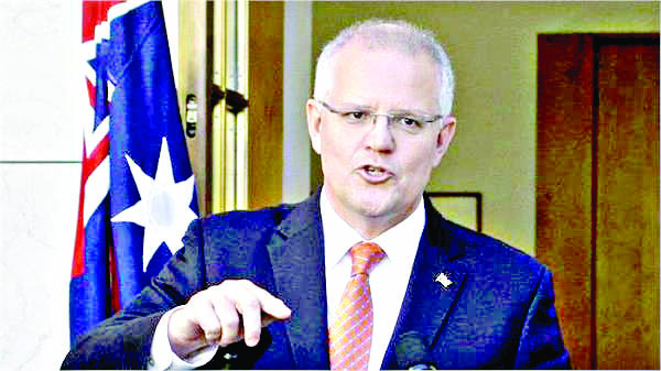 Many parties affected by cyber attack on Parliament: Morrison