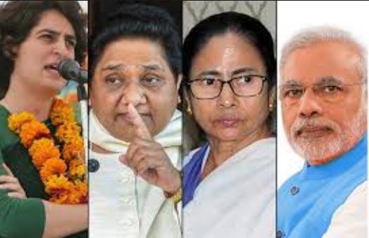 Maya, Mamta and Priyanka to prevent Modi's chariot