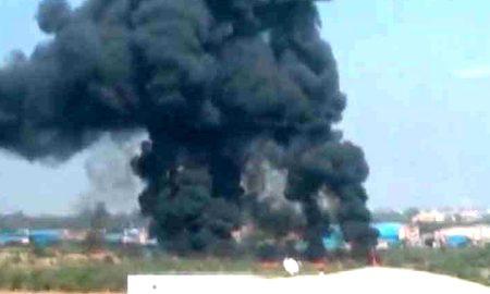 Mirage 2000 Crashes Two Pilots Killed Train Fighter Plane Bengaluru