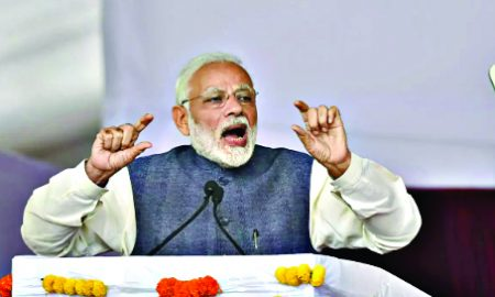 My share of locking of Terror factory: Modi