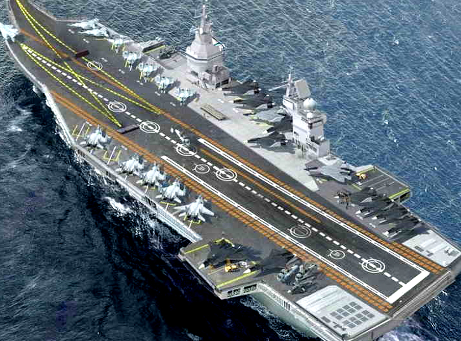 Oceans: Britain Will Launch The Biggest Aircraft Carrier And Fighter Aircraft To Hit China