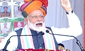 Rajasthan: Modi said - assure that the country is in safe hands