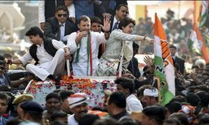 Rahul Gandhi, Road, Show, Lucknow