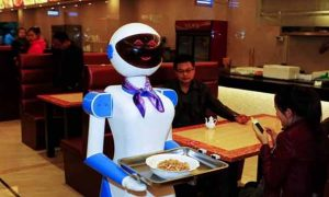 Foods, Serve, Customers, Robot