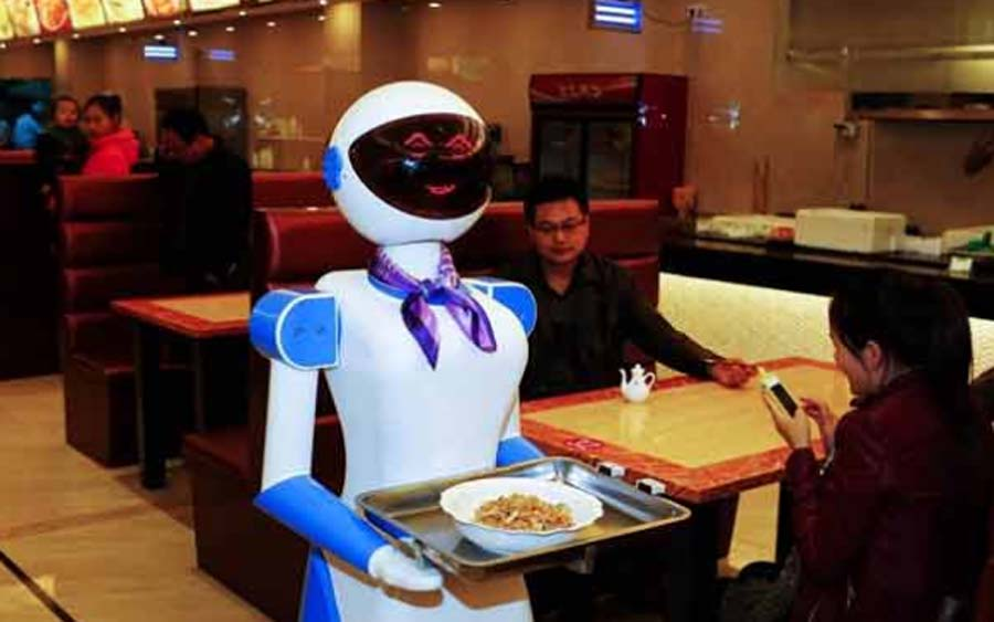 Foods, Serve, Customers, Robot