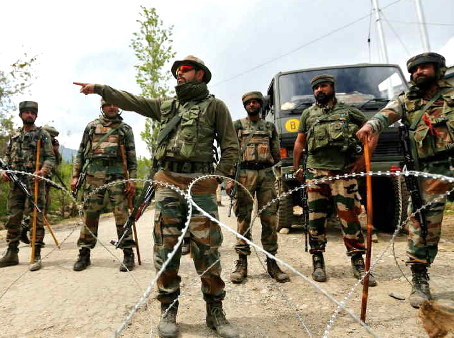 Security Forces Kill Two Terrorists In Pulwama Encounter