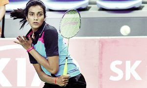 Sindhu reached the quarter-finals