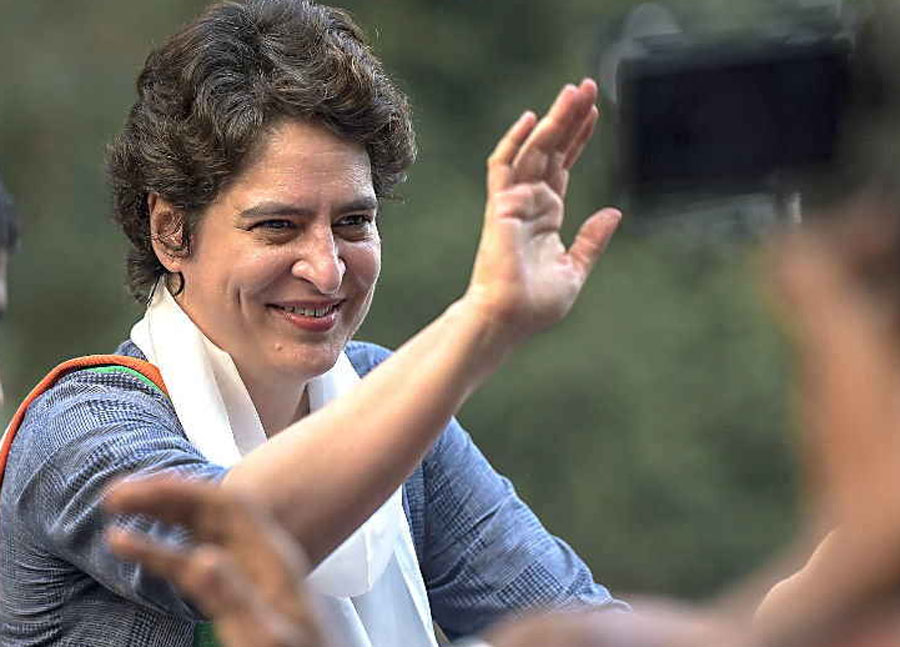 UP: Priyanka's Road Show Today