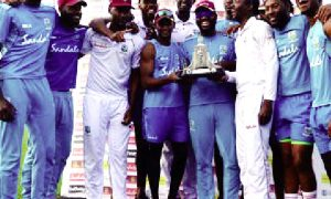 Windies captured the Test series 2-1