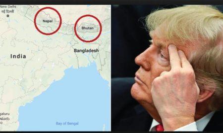World news: Trump defaults: parts of Nepal-Bhutan India
