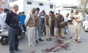 Rohtak, Two, Youths, Shot