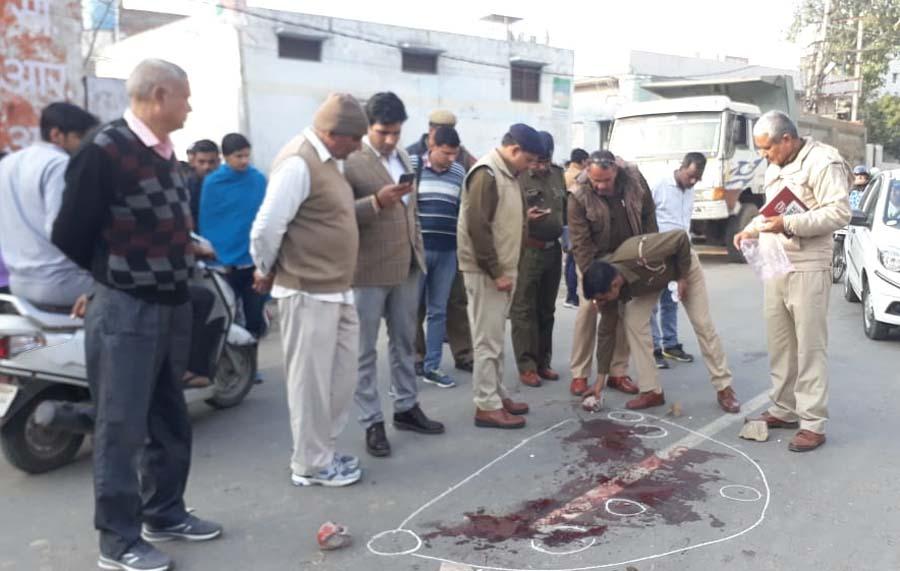 Rohtak, Two, Youths, Shot