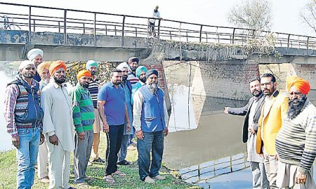 Villagers, Demand Immediate Creation, Bridge, Punjab