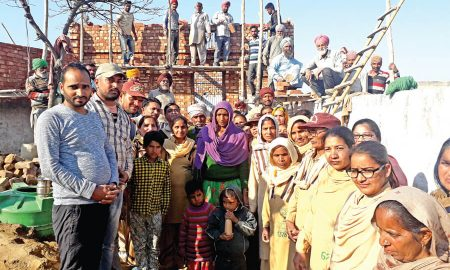 Dera Followers, Made House, Homeless, Punjab