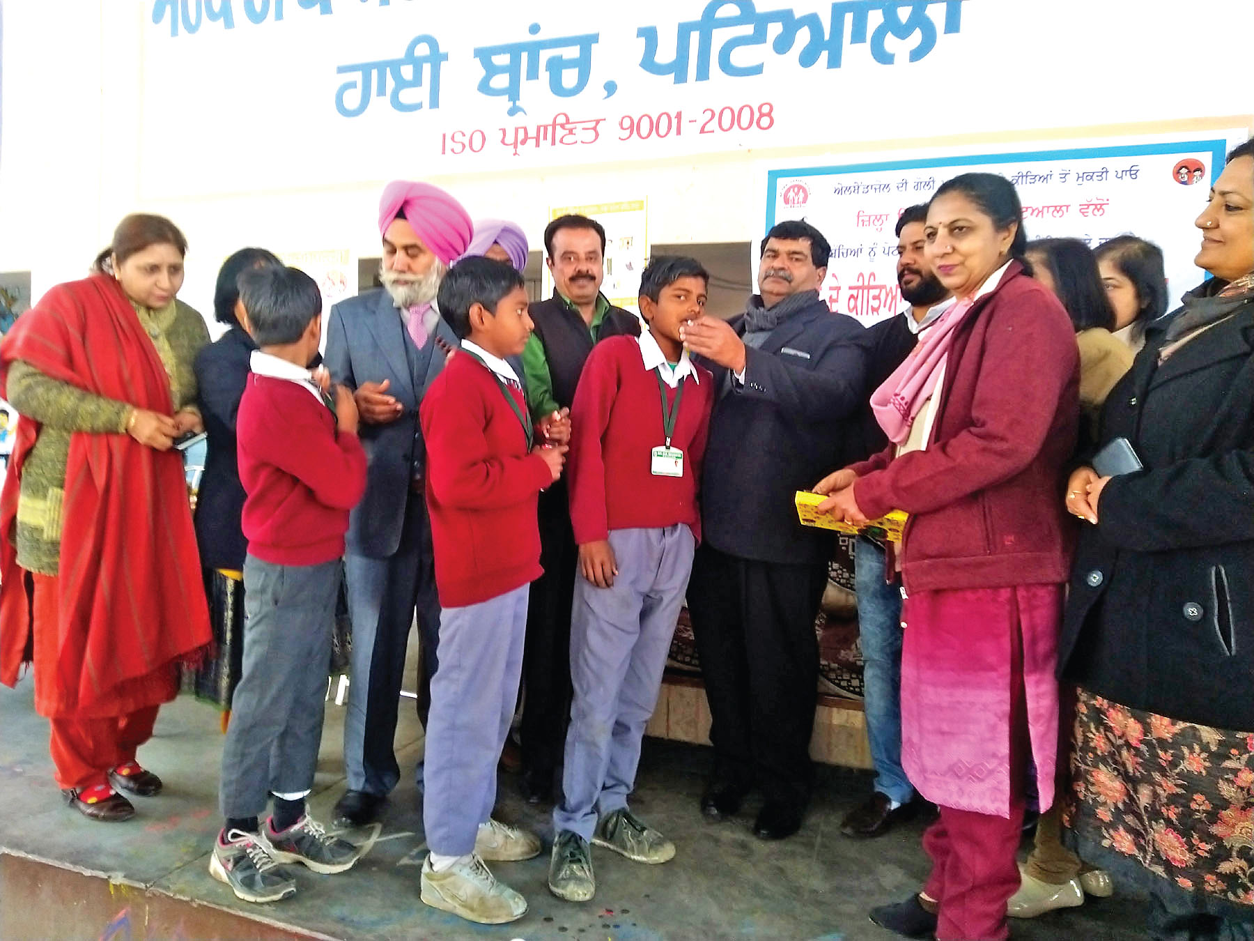 Good health is important for good education: Dr. Malhotra