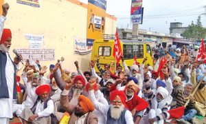 Workers Drove, DC Office, Punjab