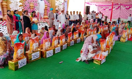 Ration given to 80 families