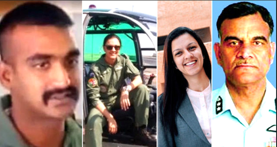 Abhinandan father and wife have retired from Air Force
