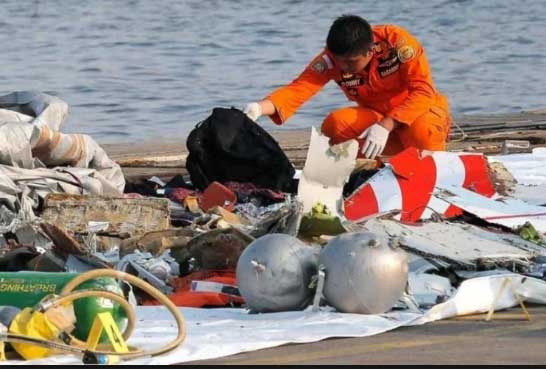 Black box of crashed aircraft found