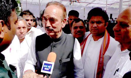 Congress will sweep clean sweep in Haryana: Ghulam Nabi Azad