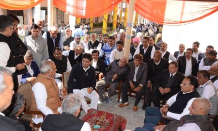Former Chief Minister Bhupinder Singh Hooda raised the finger of BJP government