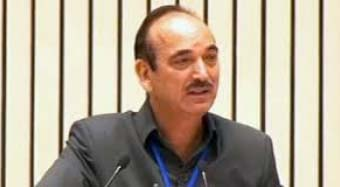 Gulab Nabi Azad cleared the dispute in the press conference
