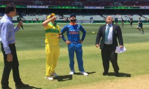India won the toss and elected to bat