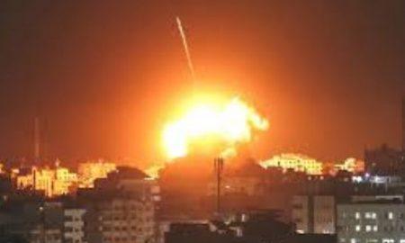 Israel targets Hamas targets in Gaza