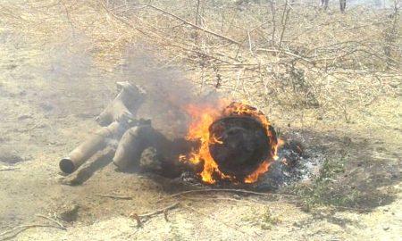 MiG-27 Crash:
