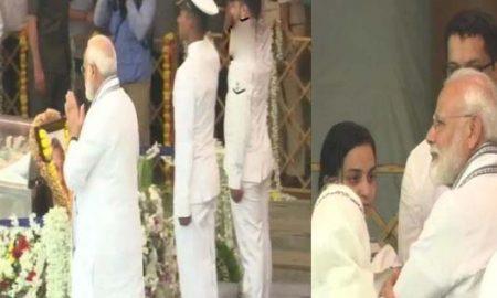 PM Modi's final farewell to Manohar Parrikar