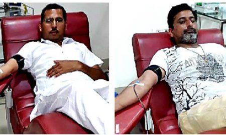 डेरा श्रद्धालुओं ने चार यूनिट रक्तदान कर बचाई मरीजों की जिंदगी