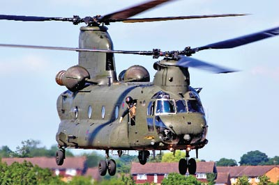 Chinook will be the unlimited power of the Air Force