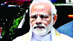 Congress not only with Naxalites, but also with the breakers of the country: Modi
