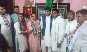 Deepender Hooda welcomed all the people who attended the party