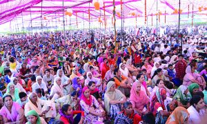 Dera followers celebrates 'pious month