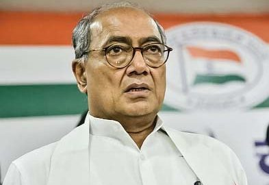 Digvijay Singh candidate from Madhya Pradesh state capital Bhopal